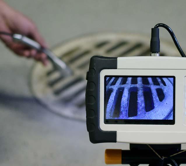 Inspection vidéo de canalisation